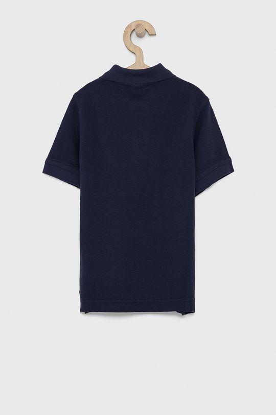 United Colors of Benetton - Dětské polo tričko námořnická modř