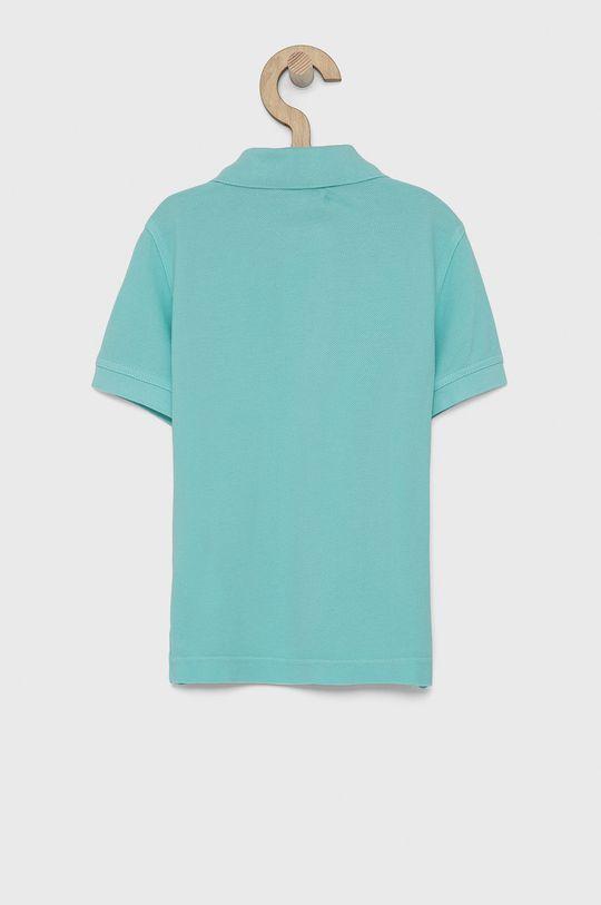 United Colors of Benetton - Dětské polo tričko tyrkysová