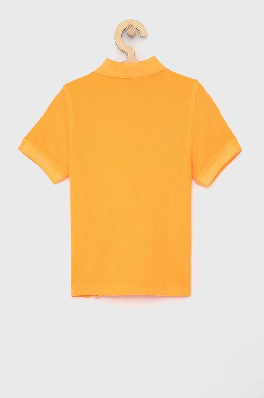 United Colors of Benetton - Dětské polo tričko oranžová