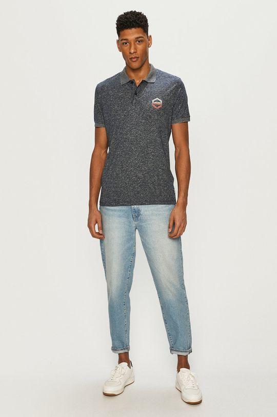 Jack & Jones - Polo tričko námořnická modř