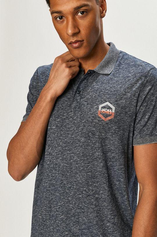 námořnická modř Jack & Jones - Polo tričko
