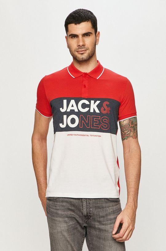červená Jack & Jones - Polo tričko Pánský