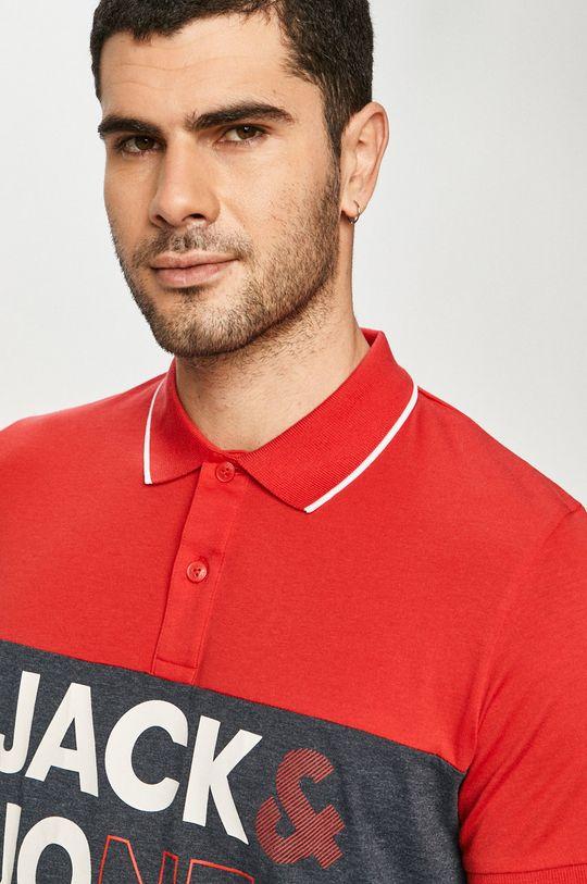 červená Jack & Jones - Polo tričko