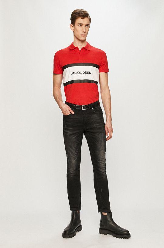 Jack & Jones - Polo tričko červená
