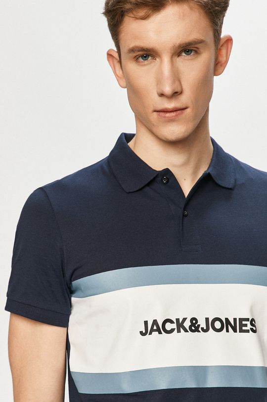 tmavomodrá Jack & Jones - Polo tričko