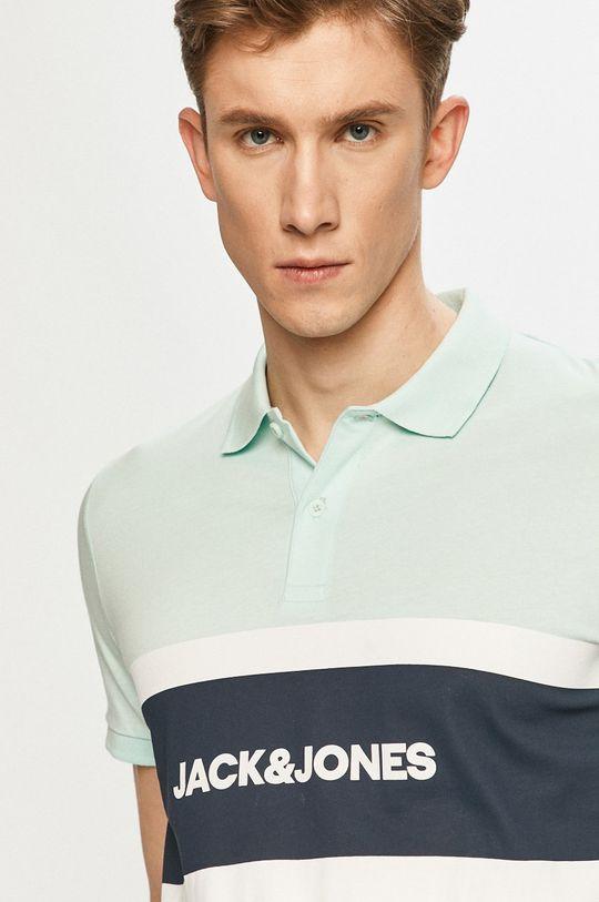 svetlá tyrkysová Jack & Jones - Polo tričko