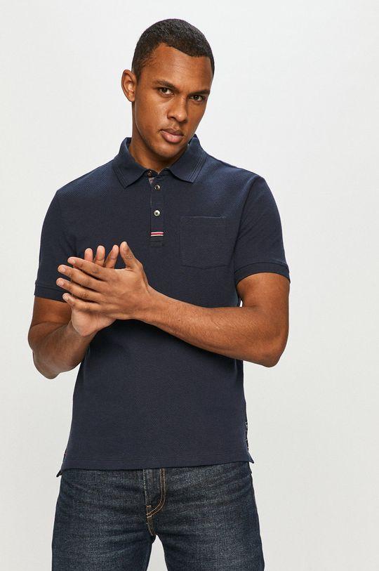 tmavomodrá Tom Tailor - Polo tričko Pánsky