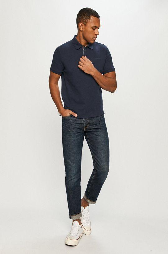 Tom Tailor - Polo tričko tmavomodrá