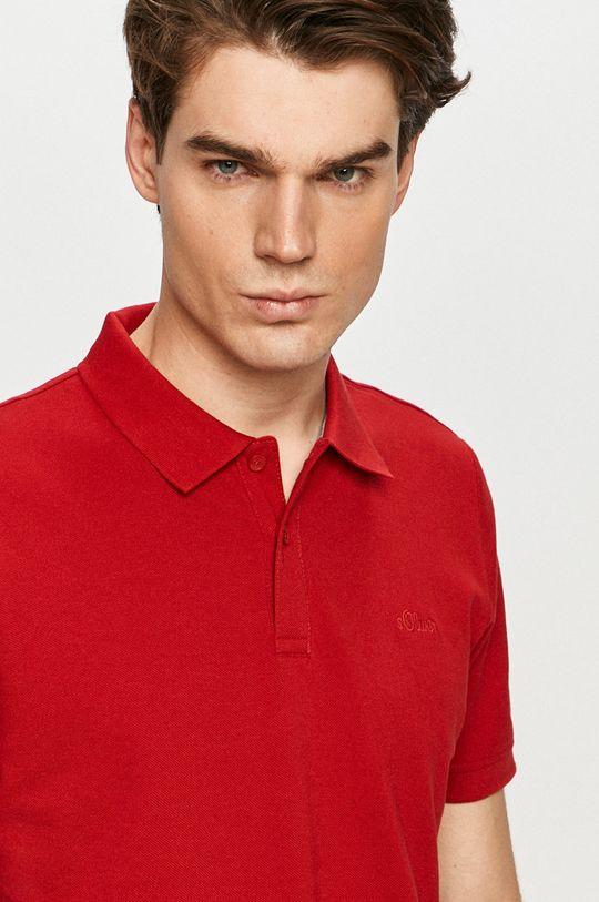 czerwony s. Oliver - Polo