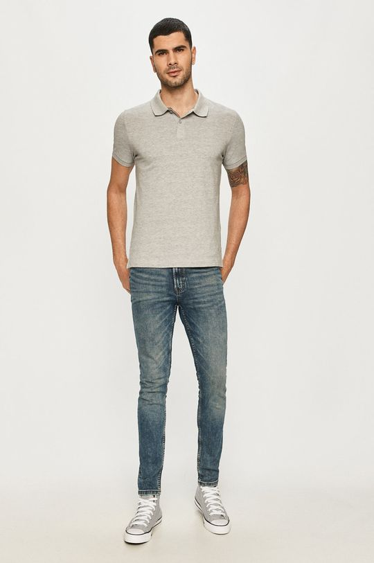 s. Oliver - Polo tričko šedá