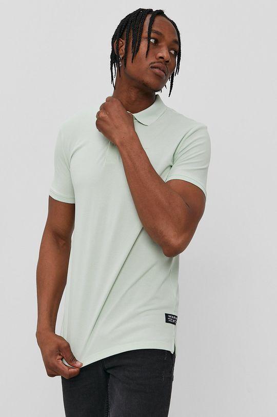 zelená Tom Tailor - Polo tričko Pánsky