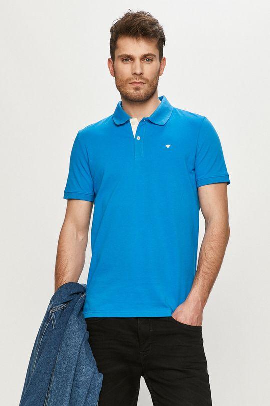 modrá Tom Tailor - Polo tričko Pánský