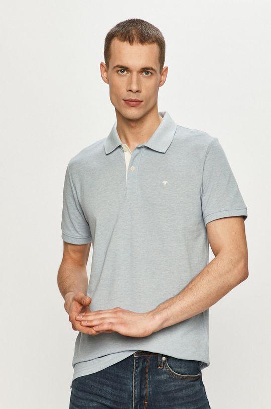 modrá Tom Tailor - Polo tričko Pánsky