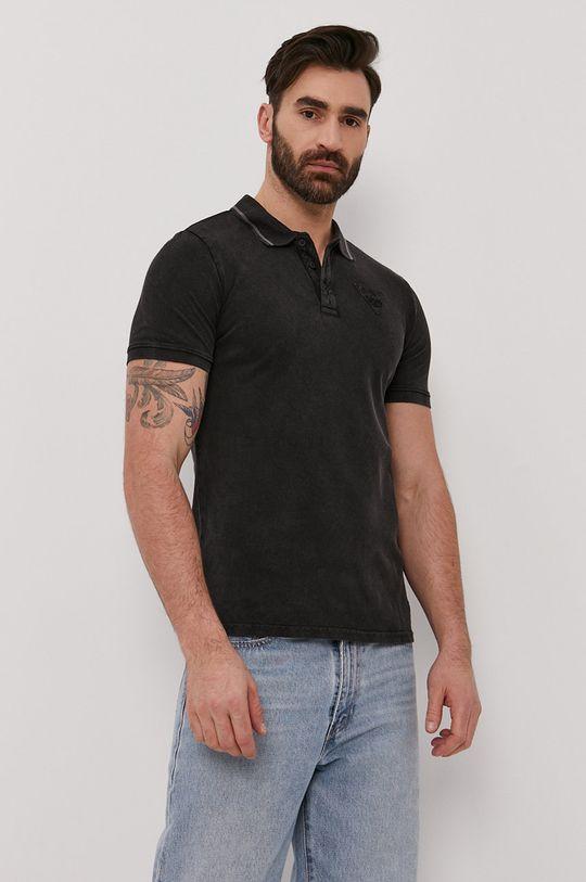 černá Guess - Polo tričko