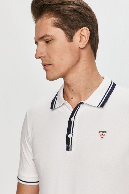 bílá Guess - Polo tričko