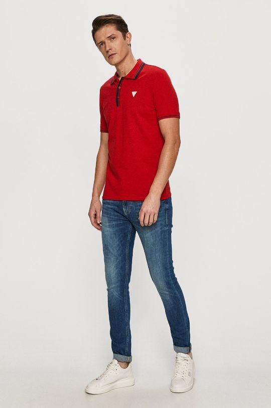 Guess - Polo czerwony