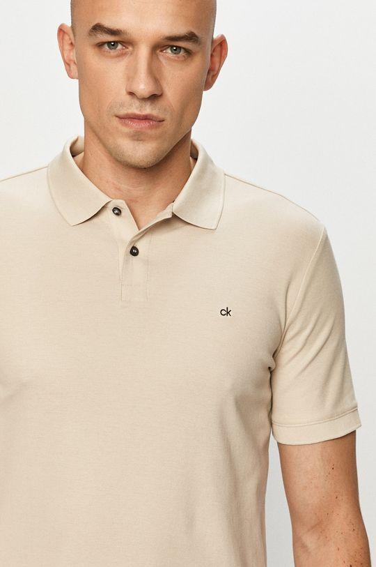 piaskowy Calvin Klein - Polo