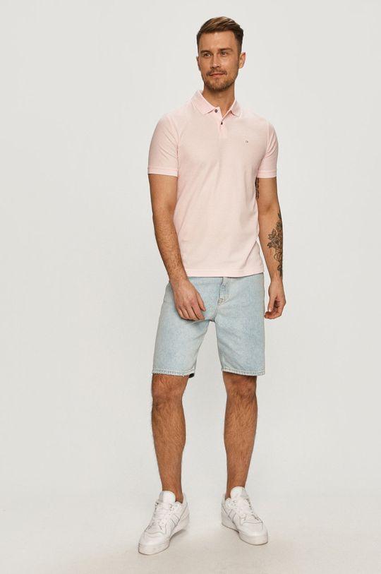 Calvin Klein - Polo tričko ružová