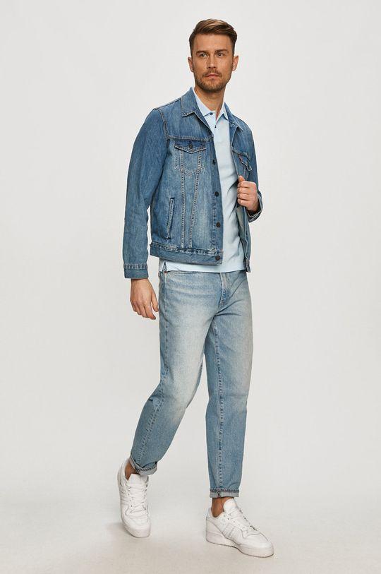 Calvin Klein - Polo tričko svetlomodrá