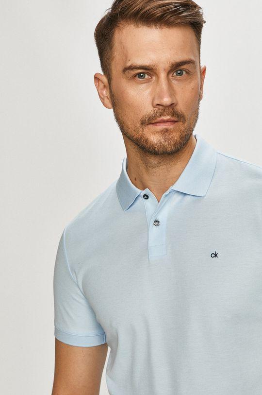 svetlomodrá Calvin Klein - Polo tričko