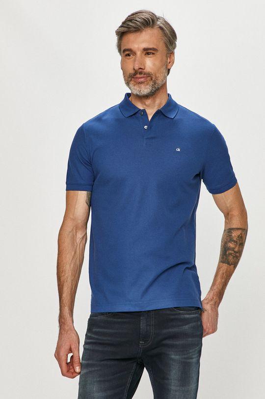 tmavomodrá Calvin Klein - Polo tričko