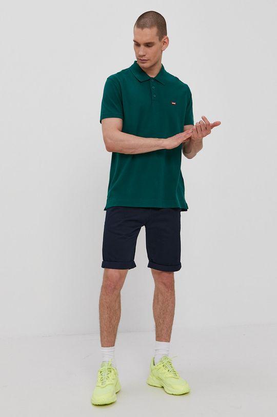 Levi's - Polo tričko zelená