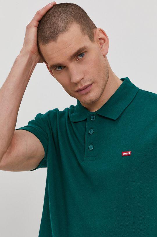zelená Levi's - Polo tričko