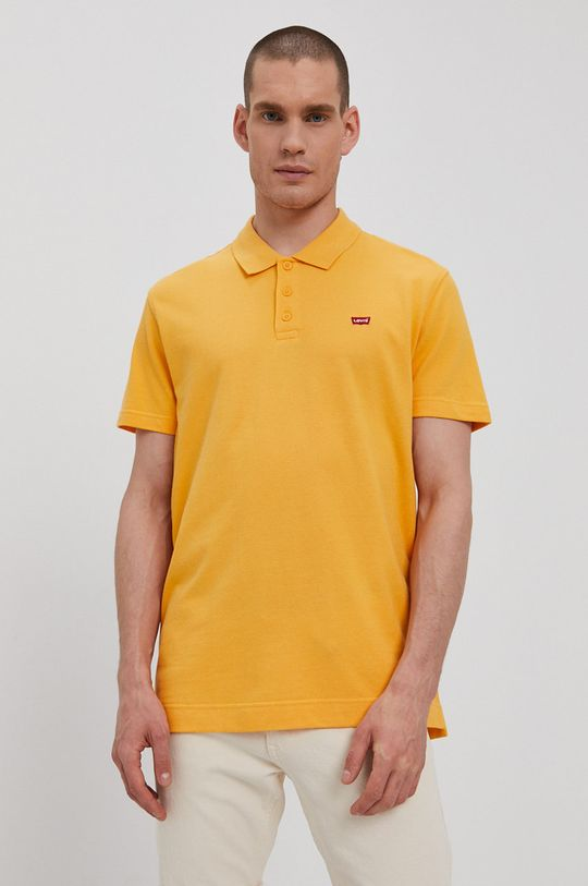 oranžová Levi's - Polo tričko Pánsky