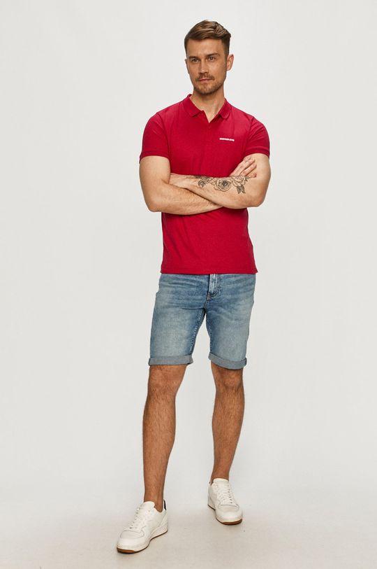 Calvin Klein Jeans - Polo tričko růžová