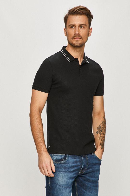 černá Hugo - Polo tričko Pánský