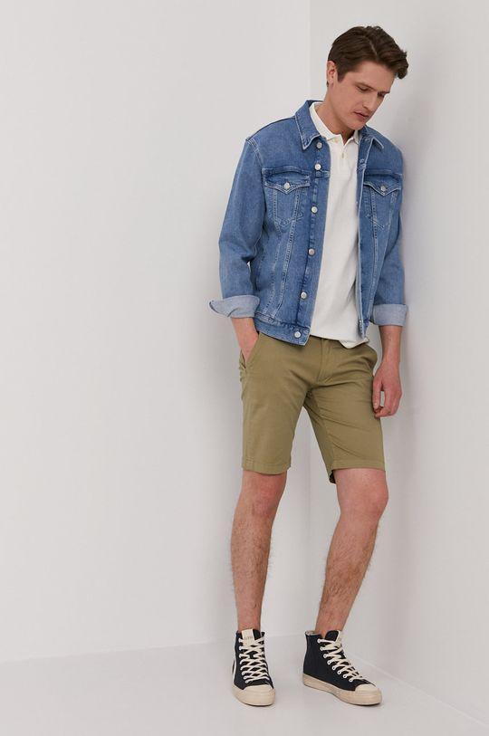 Pepe Jeans - Polo tričko Benson biela