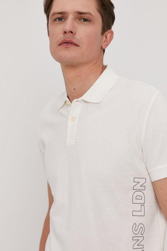 biela Pepe Jeans - Polo tričko Benson