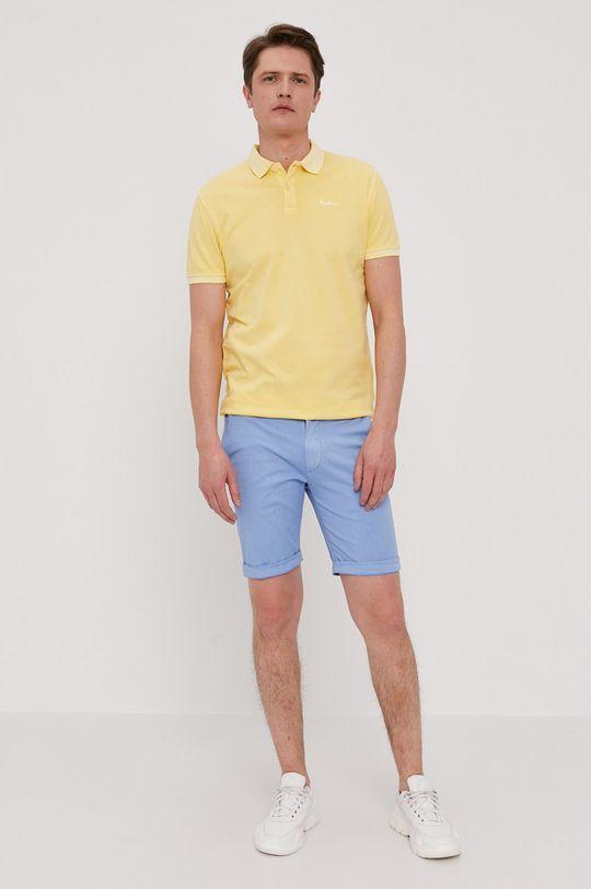 Pepe Jeans - Polo tričko Vincent žltá