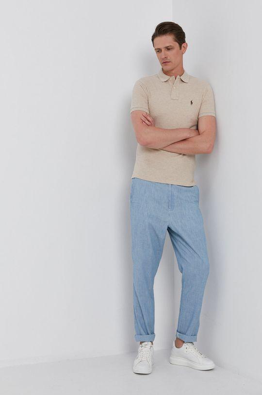 Polo Ralph Lauren - Polo tričko písková