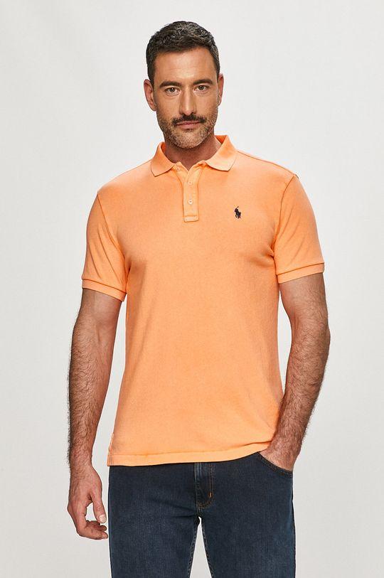 oranžová Polo Ralph Lauren - Polo tričko Pánsky
