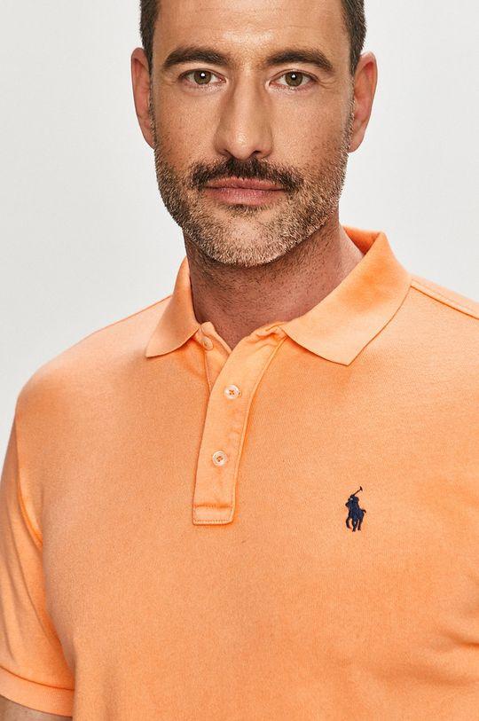 oranžová Polo Ralph Lauren - Polo tričko