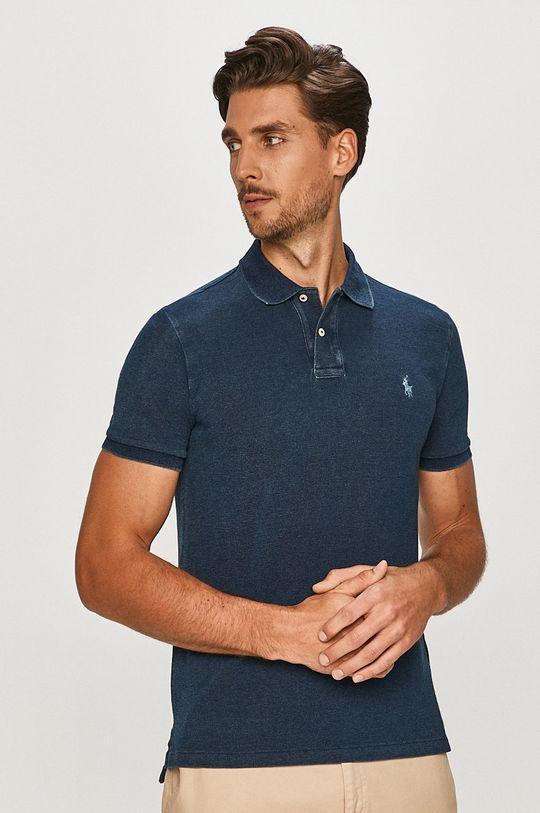 tmavomodrá Polo Ralph Lauren - Polo tričko Pánsky