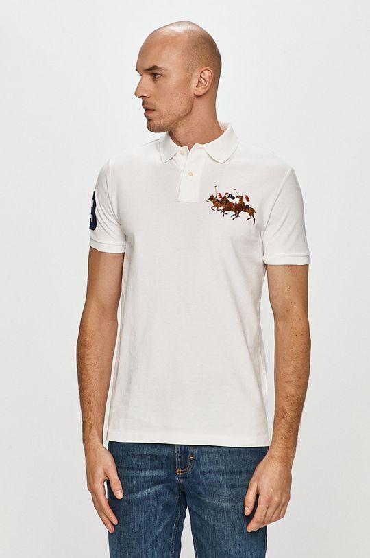biały Polo Ralph Lauren - Polo Męski