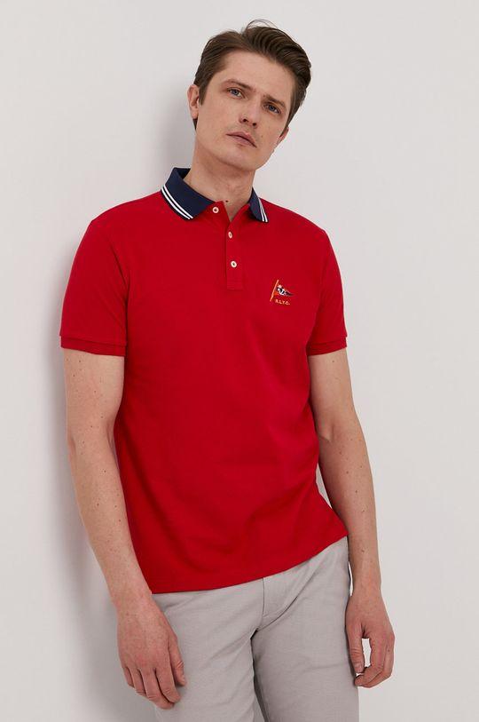czerwony Polo Ralph Lauren - Polo