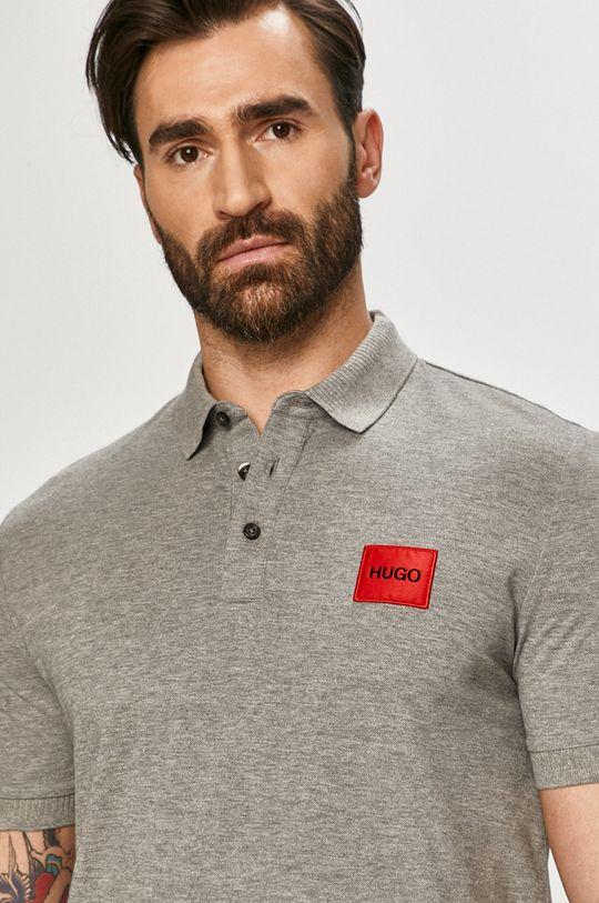 světle šedá Hugo - Polo tričko
