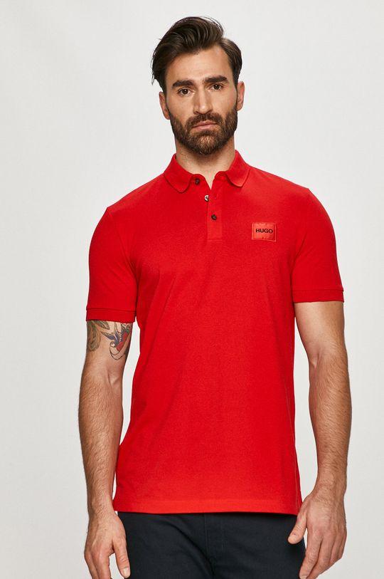 červená Hugo - Polo tričko Pánsky