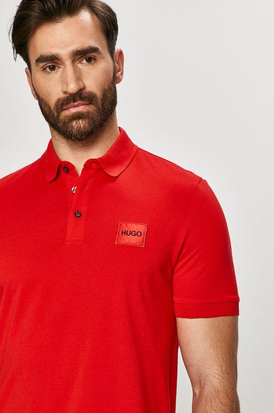 červená Hugo - Polo tričko
