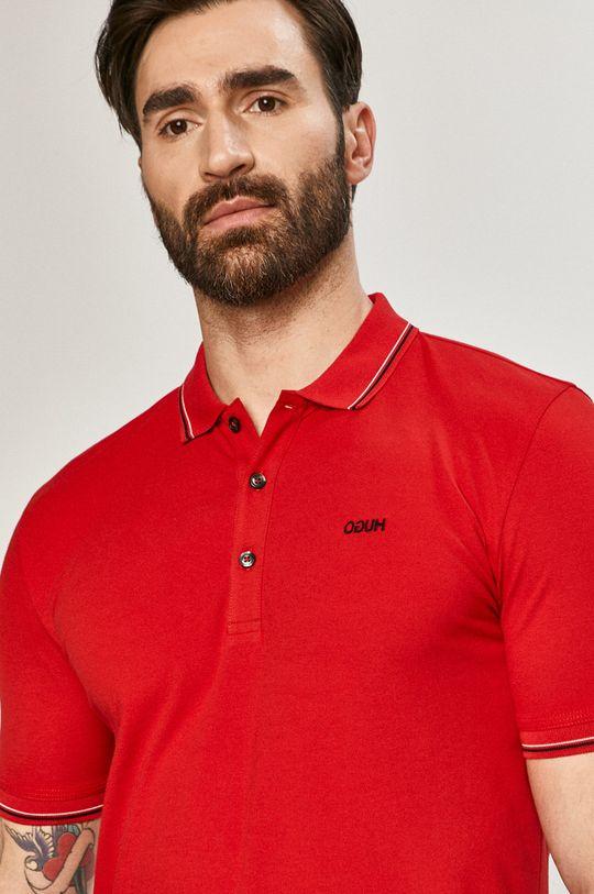czerwony Hugo - Polo Męski