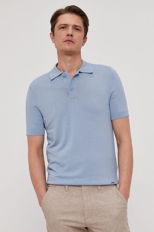 jasny niebieski Hugo - Polo Męski