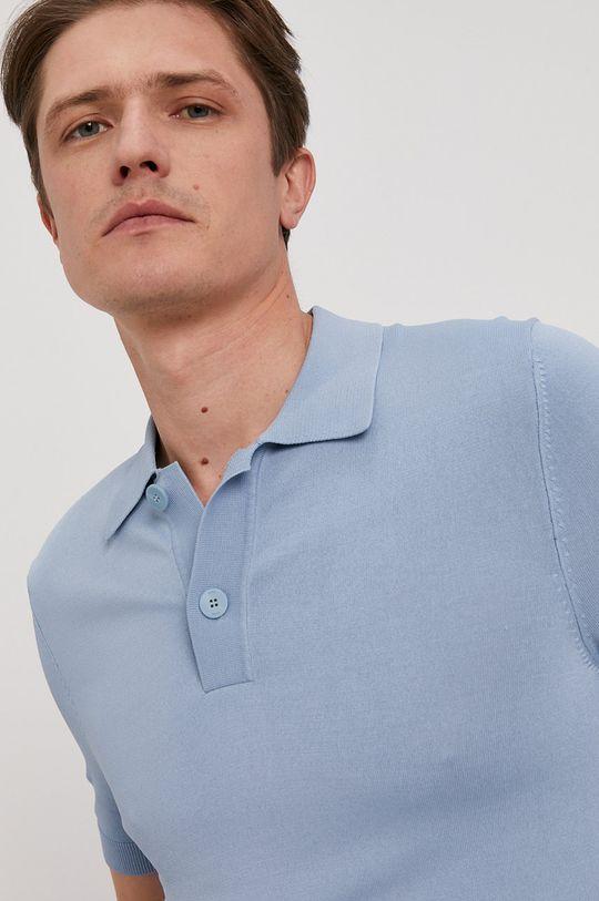 jasny niebieski Hugo - Polo