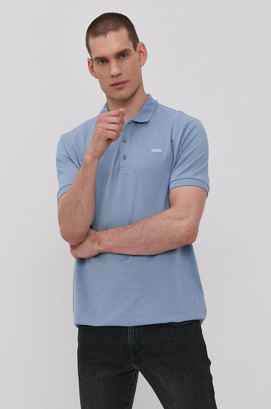 svetlomodrá Hugo - Polo tričko