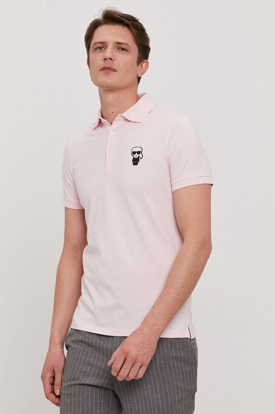 różowy Karl Lagerfeld - Polo