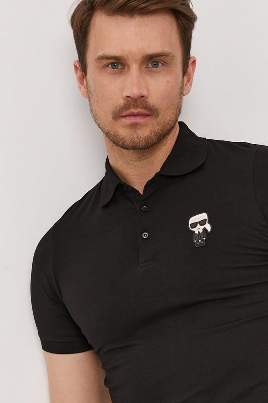 černá Karl Lagerfeld - Polo tričko