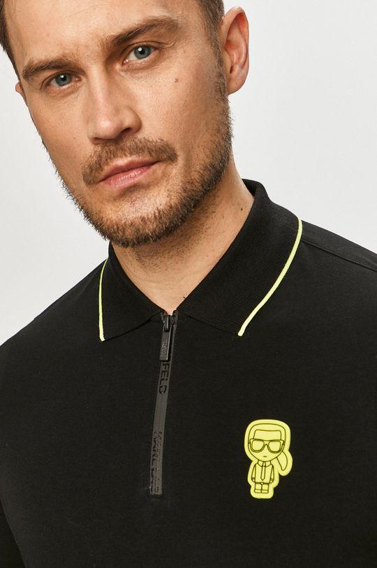 čierna Karl Lagerfeld - Polo tričko