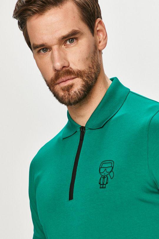 zelená Karl Lagerfeld - Polo tričko